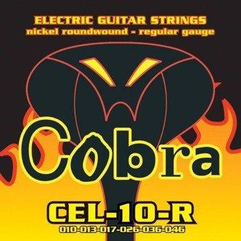 struny do gitary elektrycznej COBRA CEL-10-R NICKEL WOUND /010-046/