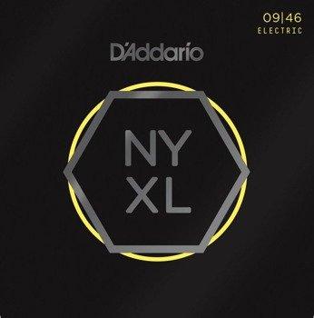 struny do gitary elektrycznej D'ADDARIO NYXL0946 Light with Reg. Bottom /009-046/