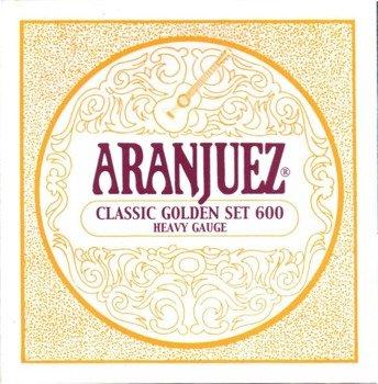 struny do gitary klasycznej ARANJUEZ A600 Classic Gold - High Tension
