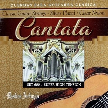 "struny do gitary klasycznej MEDINA ARTIGAS ""Cantata"" Super High Tension 600"