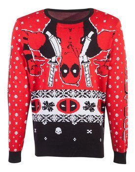 sweter MARVEL - DEADPOOL KNITTED CHRISTMAS SWEATER