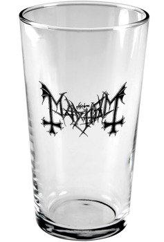 szklanka do piwa MAYHEM - LOGO