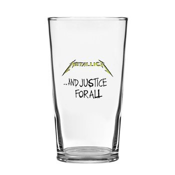 szklanka do piwa METALLICA - AND JUSTICE FOR ALL