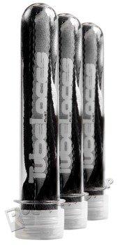sznurowadła TUBELACES - 2-TONE BLACK/WHITE (120 cm)
