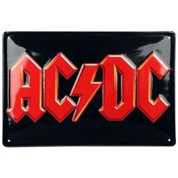 tabliczka z metalu AC/DC - LOGO