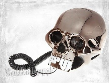 telefon ROCK DADDY - SKULL SHAPE BLACK (92004-002)