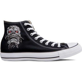 trampki  CONVERSE(M9160) - CHUCK TAYLOR ALL STAR PRINT IRON SKULL BLACK WHITE