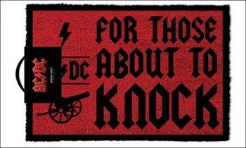 wycieraczka AD/DC - FOR THOSE WHO KNOCK