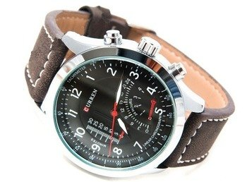 zegarek MILITARY BLACK SILVER