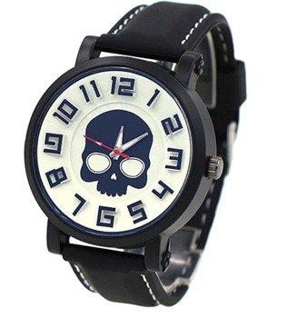zegarek SKULL WHITE