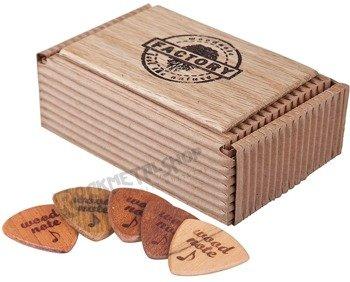 zestaw drewnianych kostek WOODNOTE (5 szt)