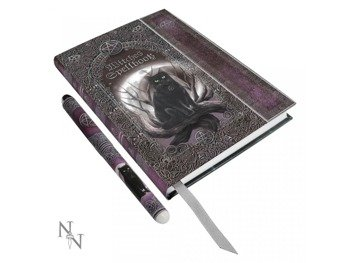 zeszyt  EMBOSSED WITCHES SPELL