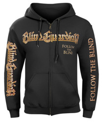 bluza BLIND GUARDIAN - FOLLOW THE BLIND, rozpinana z kapturem