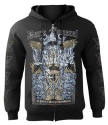 bluza DARK FUNERAL - 25 YEARS OF SATANIC SYMPHONIES, rozpinana z kapturem