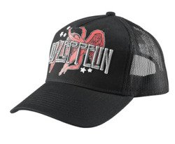 czapka LED ZEPPELIN - ICARUS AND LOGO TRUCKER