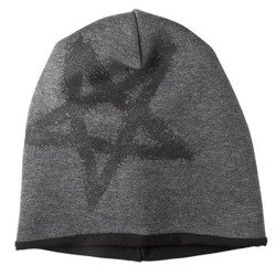 czapka zimowa AMENOMEN - PENTAGRAM (OMEN096CZAP) GRAY BLACK
