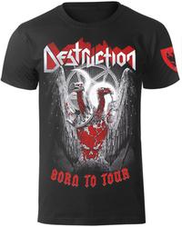 koszulka DESTRUCTION - BORN TO TOUR