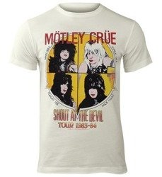 koszulka MOTLEY CRUE - SHOUT AT THE DEVIL vintage white