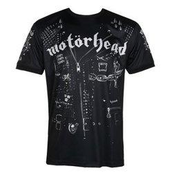 koszulka MOTORHEAD - LEATHER VEST, techniczna