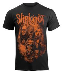 koszulka SLIPKNOT - WANYK ORANGE PATCH