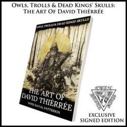 książka OWLS, TROLLS & DEAD KING'S SKULLS: THE ART OF DAVID THIÉRRÉE, wersja anglojęzyczna