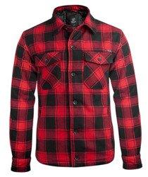 kurtka/koszula LUMBERJACKET red/black