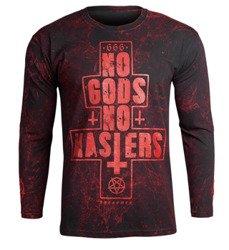 longsleeve AMENOMEN - NO GODS NO MASTERS (OMEN080LO ALLPRINT RED)