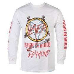 longsleeve SLAYER - REIGN IN BLOOD biały