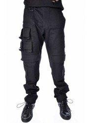 spodnie męskie CHEMICAL BLACK - GLITCH