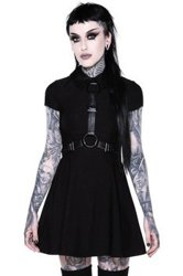 sukienka KILLSTAR - DISGRACE (BLACK)