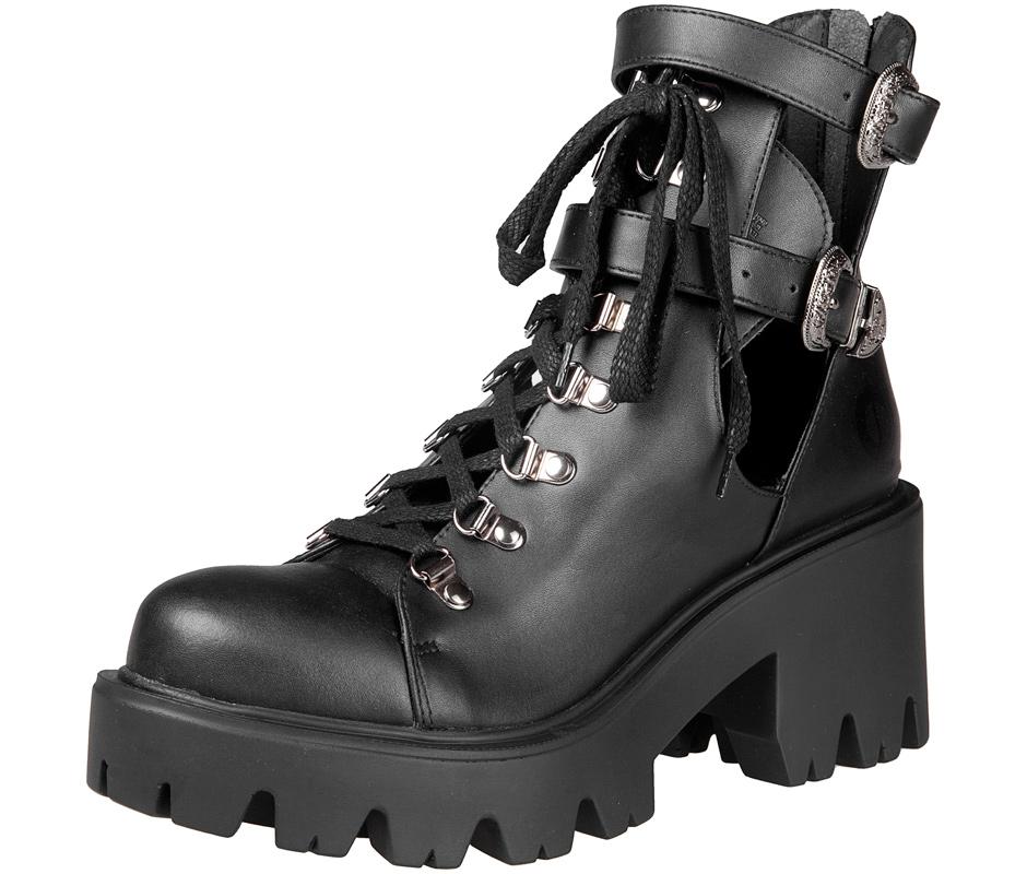 96c136f3 botki damskie ALTERCORE czarne (SADIE VEGAN BLACK) | sklep MetalHead ...