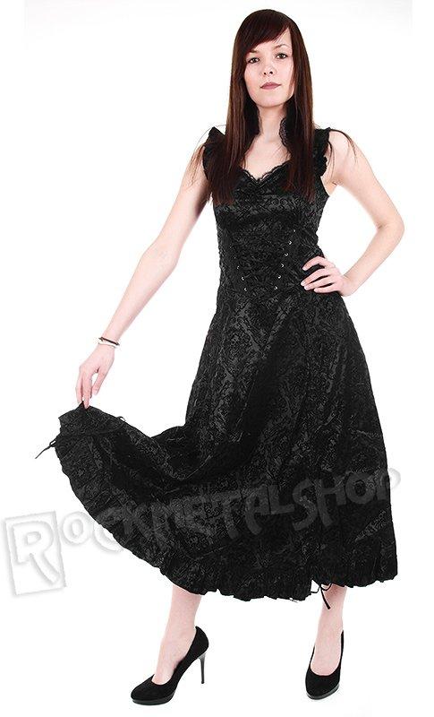 fde7c49dfd suknia gotycka LIVING DEAD SOULS (BLACK)