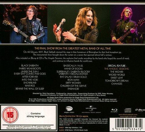 BLACK SABBATH: THE END...LIVE 2017  BIRMINGHAM (BLU-RAY+CD)