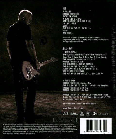 DAVID GILMOUR: RATTLE THAT LOCK (CD+BLU-RAY)
