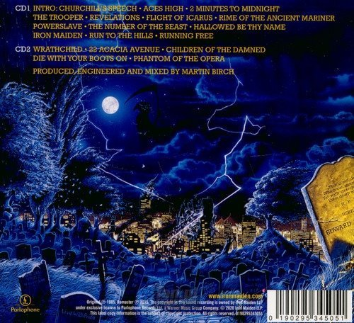 IRON MAIDEN: LIVE AFTER DEATH (2CD)
