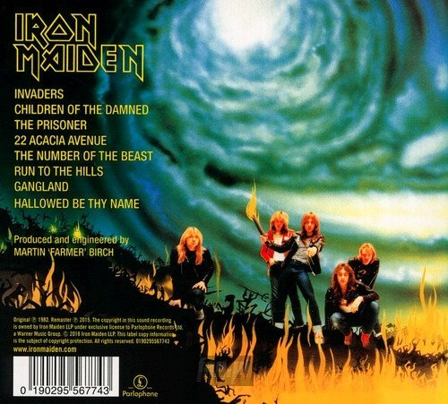 IRON MAIDEN: THE NUMBER OF THE BEAST (CD)