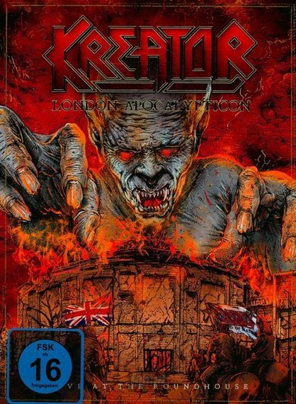 KREATOR: LONDON APOCALYPTICON LIVE AT THE ROUNDHOUSE (BLURAY+CD)