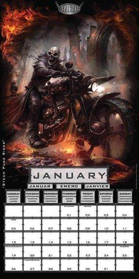 Kalendarz SPIRAL METALWORK 2015