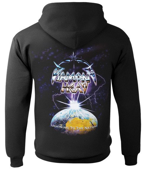 bluza DIAMOND HEAD - LIGHTNING, kangurka z kapturem