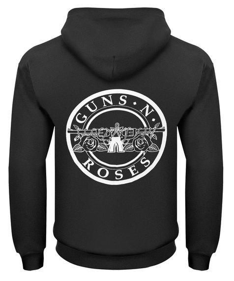 bluza GUNS N' ROSES - PISTOLS rozpinana, z kapturem