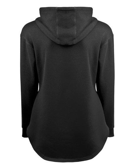 bluza damska METAL STREETWEAR czarna, z kapturem