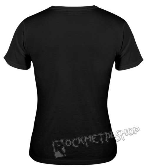 bluzka damska BLACK ICON - SHREK (DICON138 BLACK)