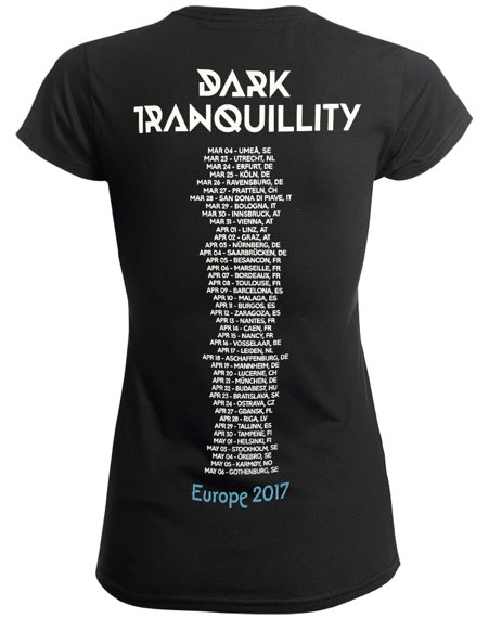 bluzka damska DARK TRANQUILLITY - TOUR 2017