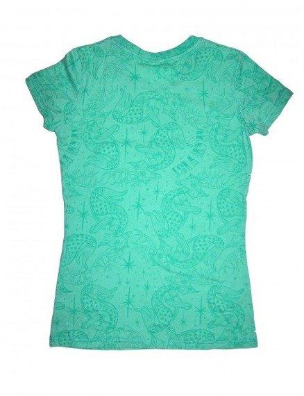 bluzka damska IRON FIST - SANTALOPE (AQUA GREEN)