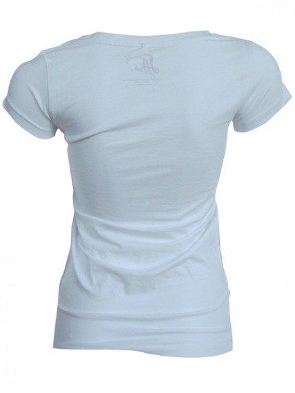 bluzka damska LA INK - WHITE (TS420114LIK)