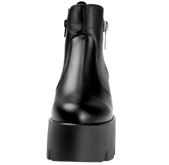 botki damskie ALTERCORE czarne (DORIS NAPA NEGRO)