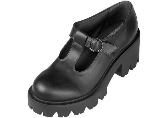 botki damskie ALTERCORE czarne (MARY VEGAN BLACK)