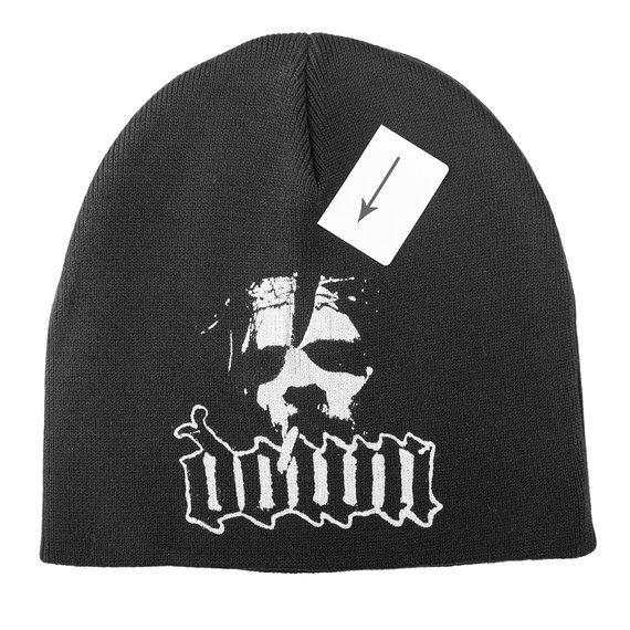 czapka DOWN - NOLA, zimowa, USZKODZONA