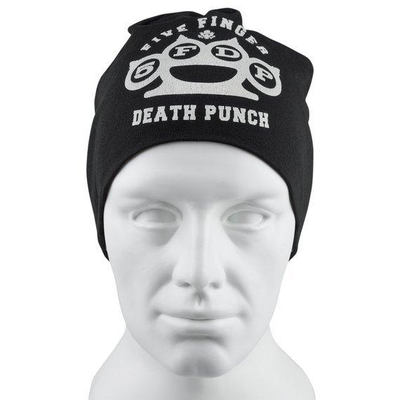 czapka FIVE FINGER DEATH PUNCH - LOGO, zimowa