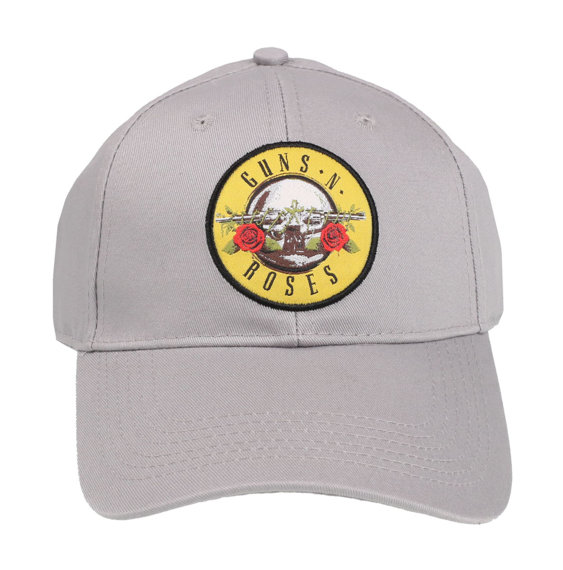 czapka GUNS N' ROSES - CIRCLE LOGO (GREY)